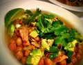 Crock Pot Chicken & Chickpea Clean Green Stew