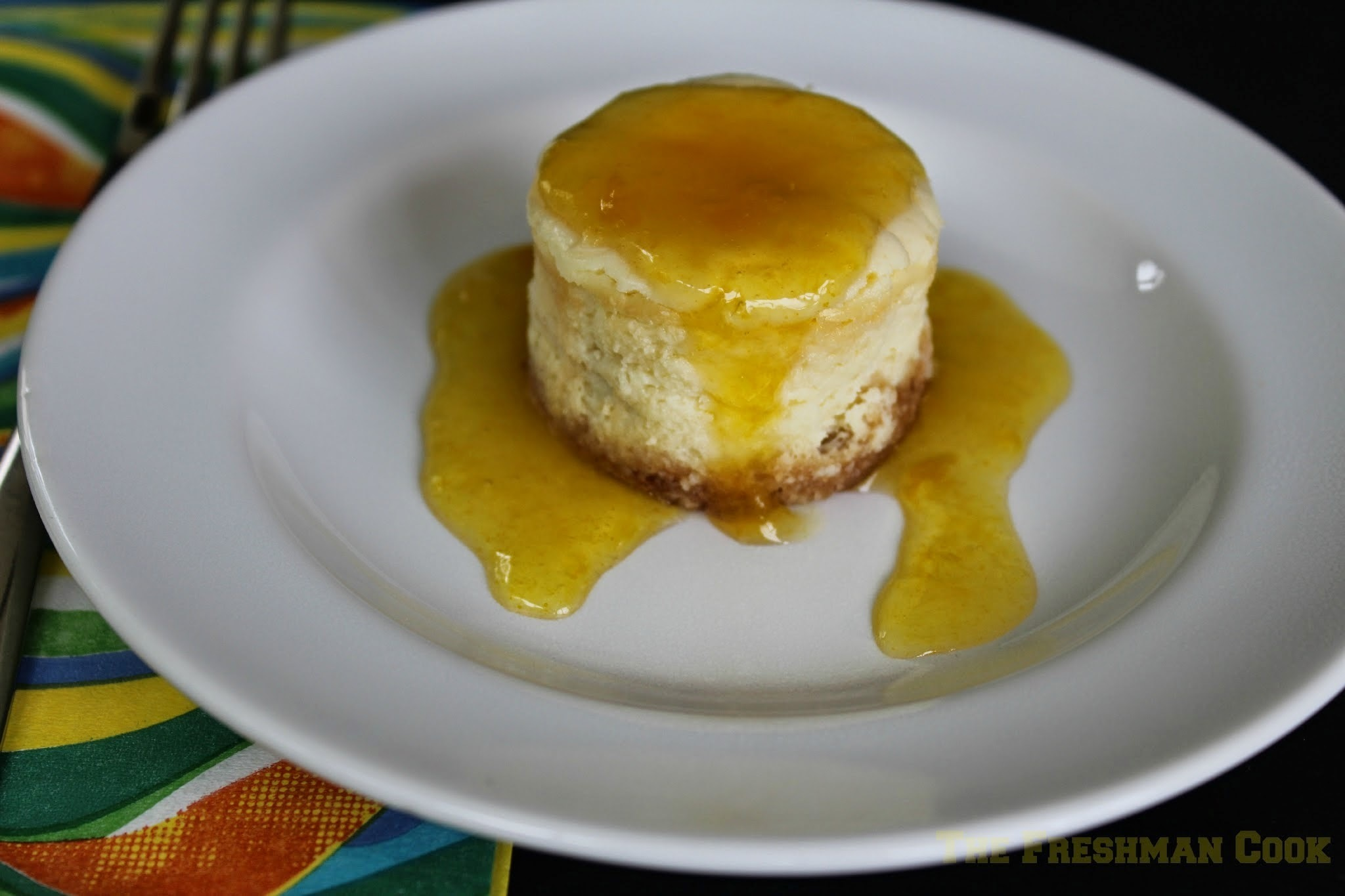 Mini Mango Cheesecake for #SundaySupper