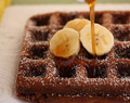 Free Recipe @ Macs Meals: Chocolate banana waffles