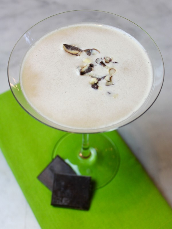 Ginger Chocolate Martinis