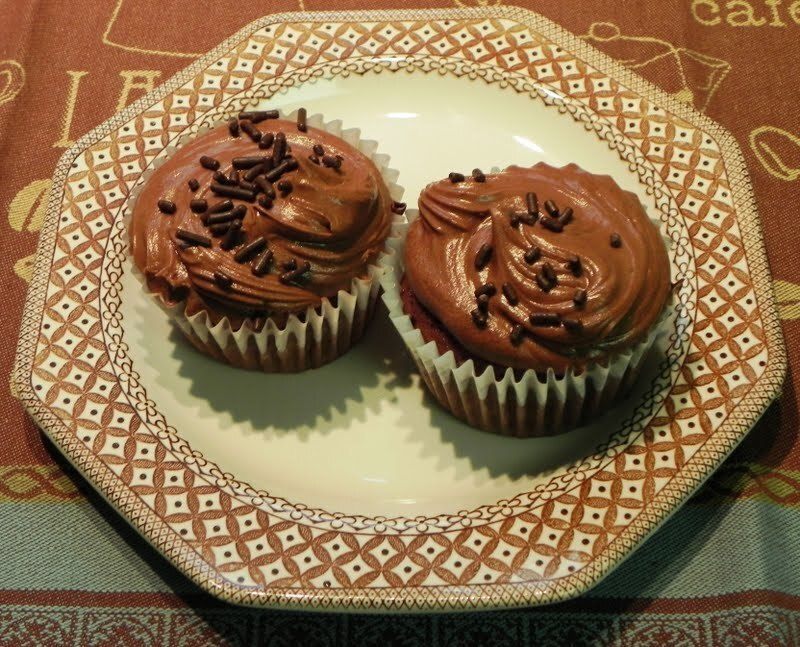 Family Favorites...Chocolate Cupcakes for a Compact Food Processor