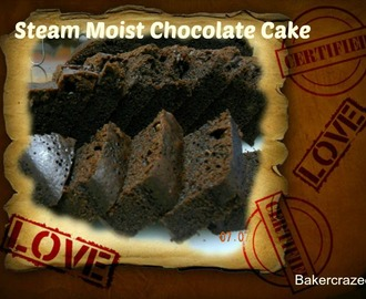 Steam Moist Chocolate Cake