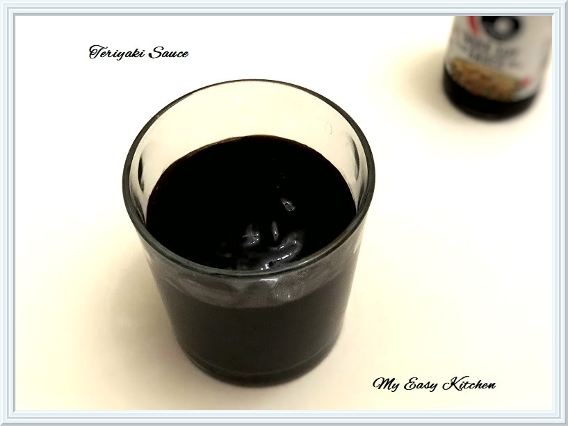 My Easy Kitchen: Homemade Teriyaki Sauce