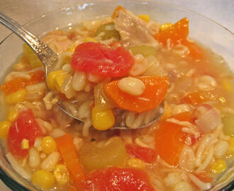 Chicken Vegetable Barley Soup; things not to do in France