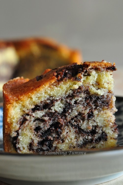 Marble Cake (Air fryer)