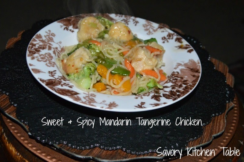 SWEET & SPICY MANDARIN TANGERINE CHICKEN