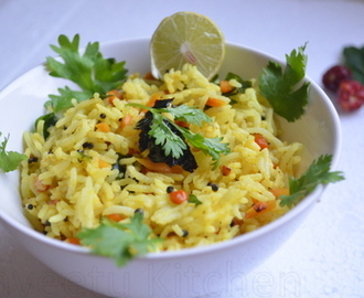 Lemon Rice - Navrathri Neivedhiyam/Offering, Lunch Box Recipe