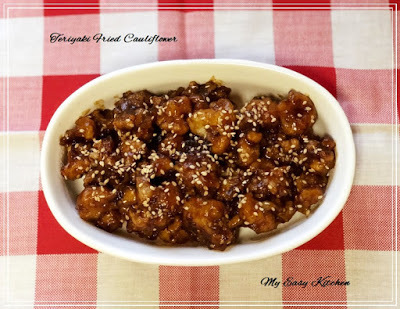 Teriyaki Fried Cauliflower