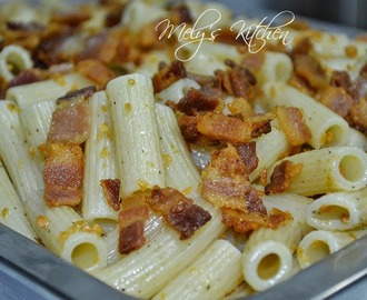 Tortiglioni with Bacon