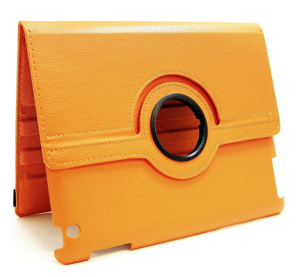 360 Fodral Apple iPad 2 iPad 3 iPad 4 (Orange)