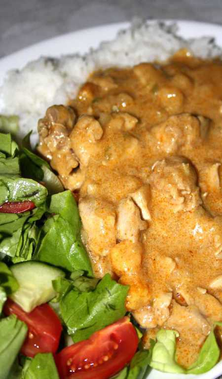 Indisk chicken curry
