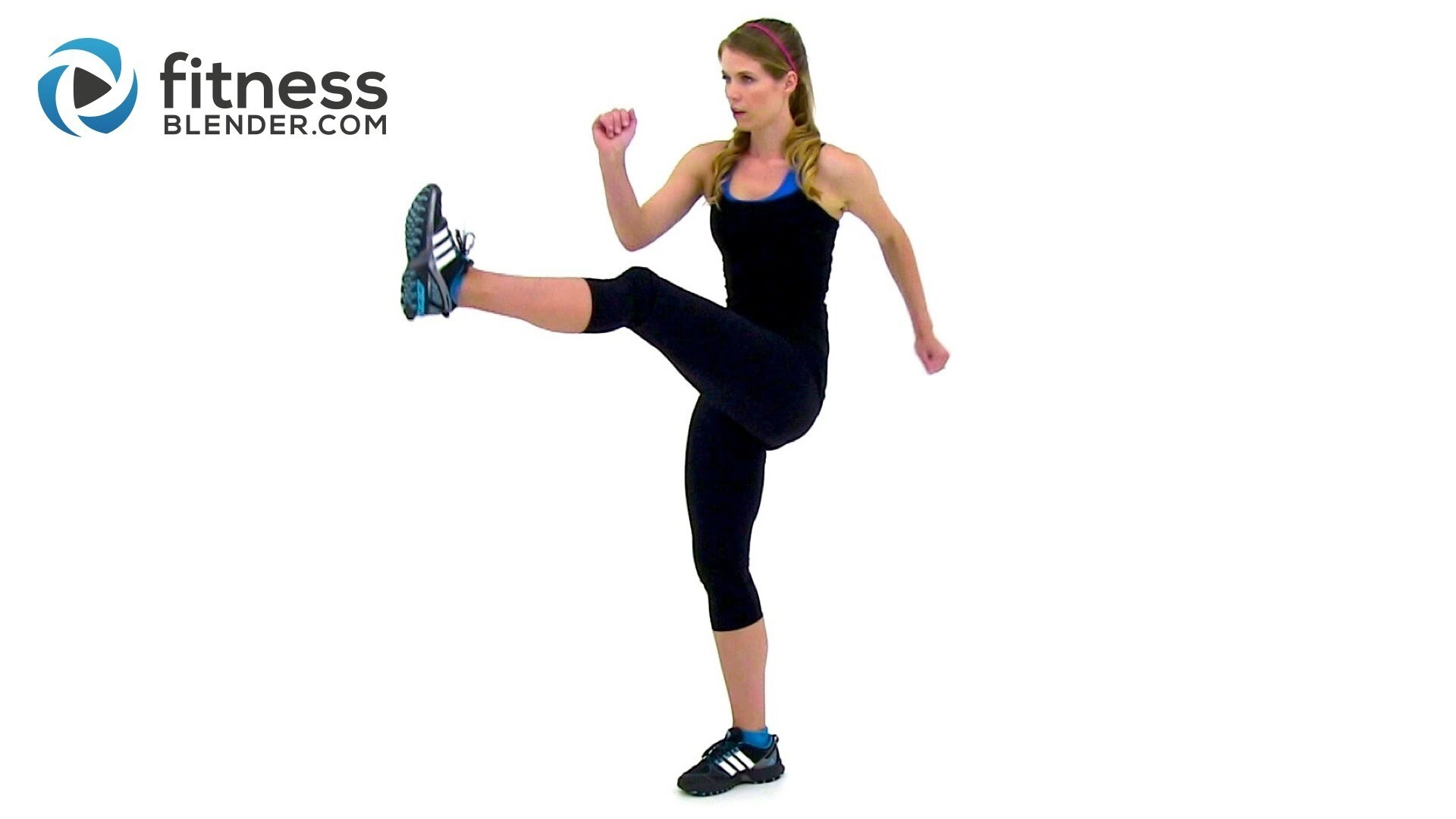 Cardio Infused Standing Abs Workout - Crunchless Abs + Cardio