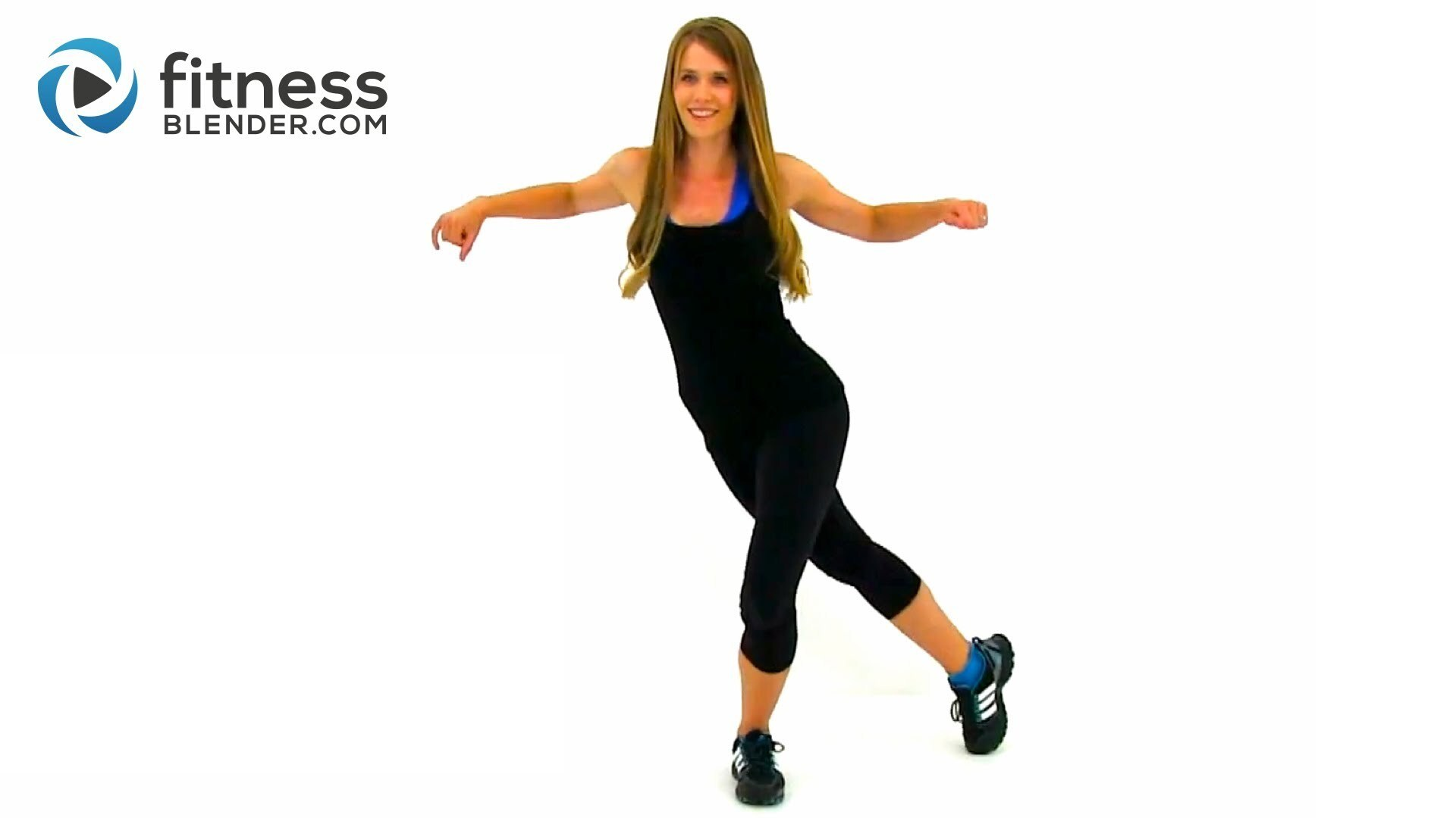 Easy on the Knees Kickboxing Blend - Low Impact Cardio Workout for Beginners