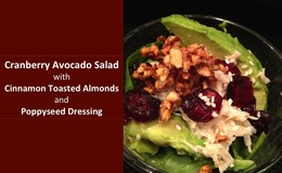 Cranberry avocado