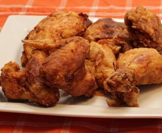 Watch how to make southern fried chicken
