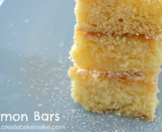 Thermomix Lemon bars from 'Create Bake Make'