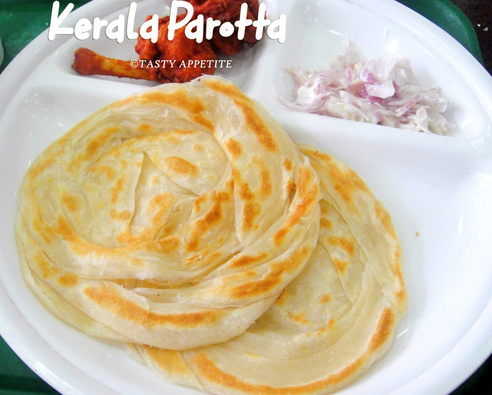 Kerala Parotta / Malabar Parotta / Indian Bread Recipes
