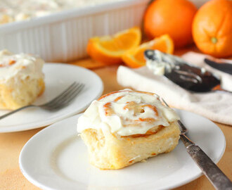 Orange Marmalade and Cream Cheese Sweet Rolls
