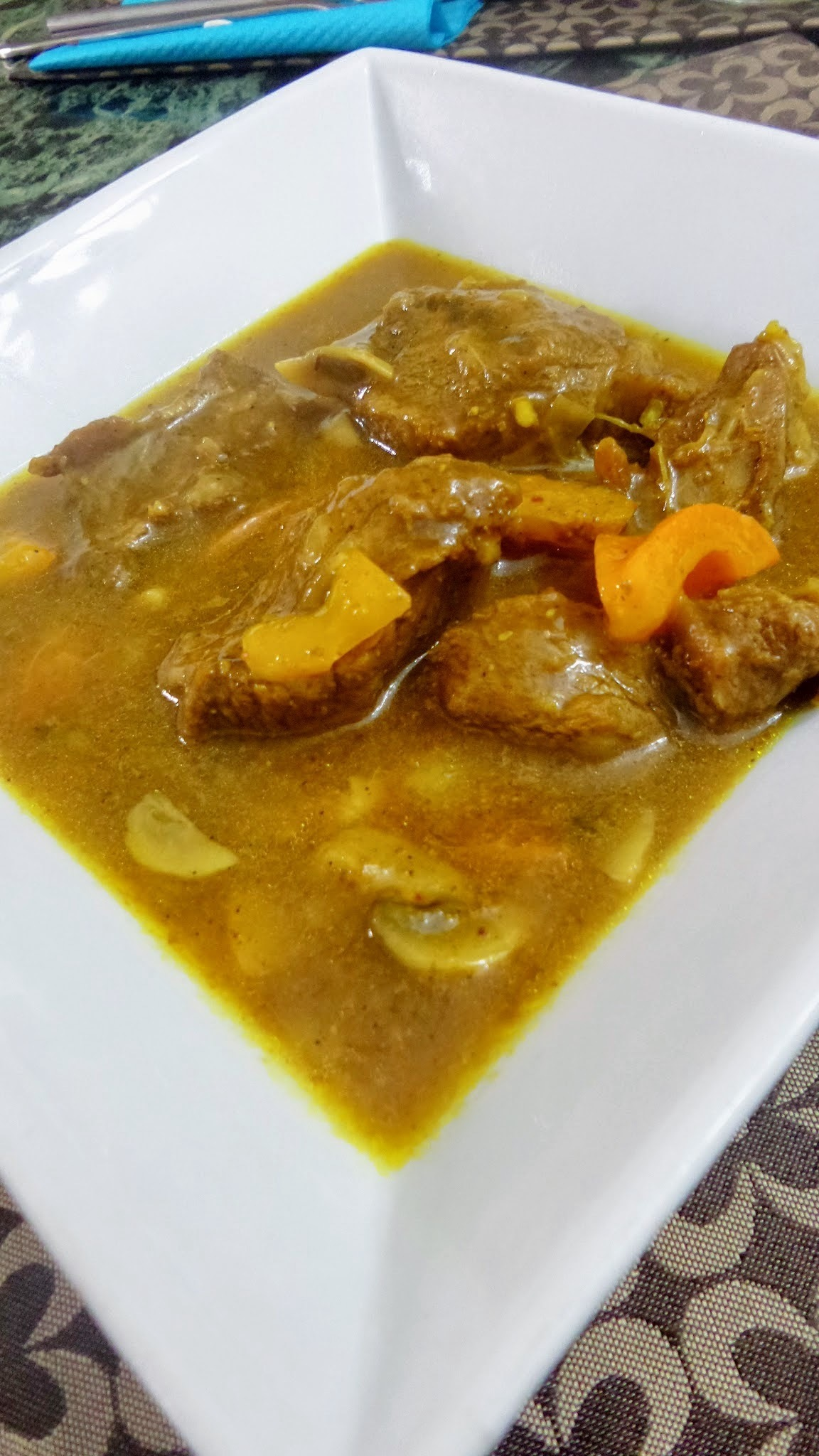 Curried Lamb - Jamaican Style