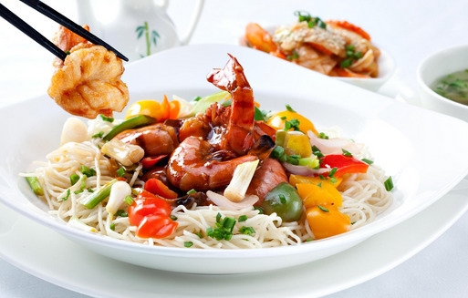 Seafood Fried Noodles Recipe - Special Recipes Gallery