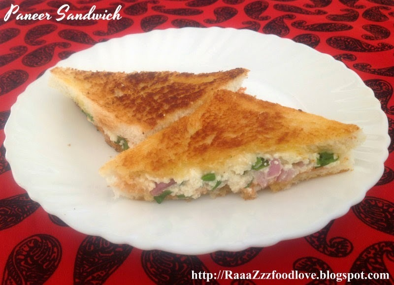 Paneer Sandwich Recipe | Easy Sandwich Recipe