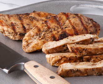 No-Stick Marinade for Grilled Chicken