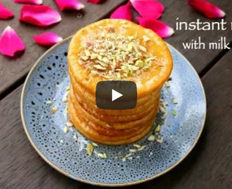 Instant Malpua Recipe Video