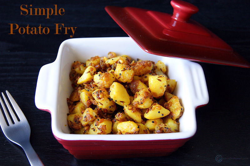 Simple Potato Fry