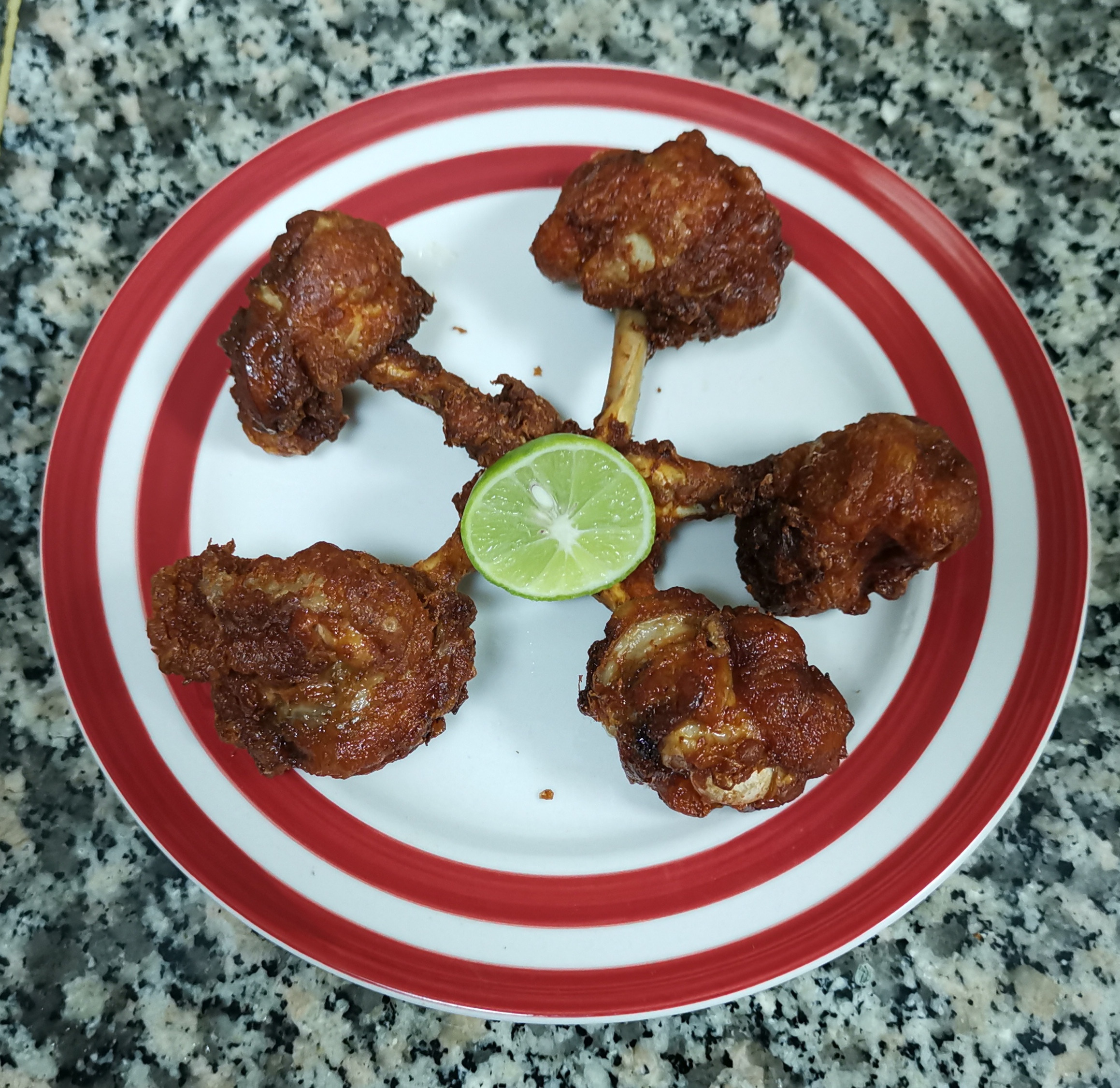 DELICIOUS CHICKEN LOLLIPOP HOME MADE