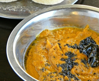 Carrot Coconut Chutney Recipe / Side dish for Idli dosa