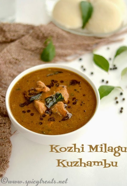 Kozhi Milagu Kuzhambu | Spicy Chicken Pepper Curry | Pepper Chicken Curry Recipe | South Indian Pepper Chicken Curry