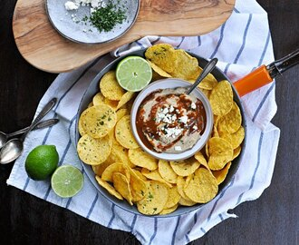 toasted walnut enchilada hummus with cilantro + lime