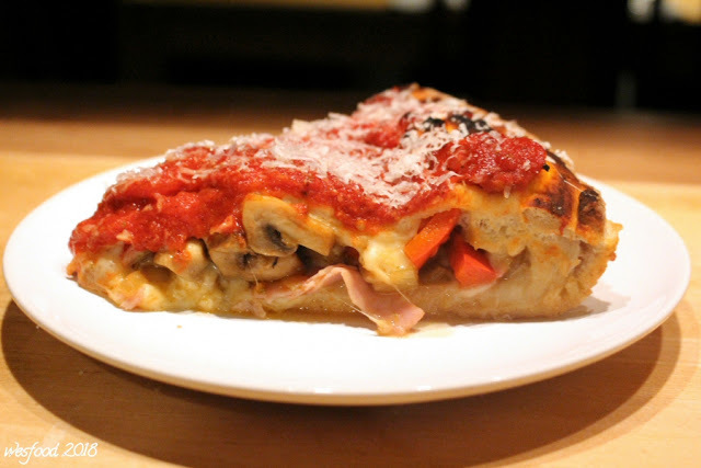 Stuffed Deep Dish Pizza Chicago Style