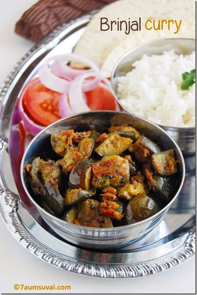 Andhra brinjal curry
