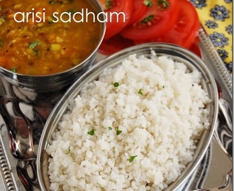 Samai arisi sadham / little millet rice