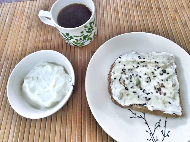 High protein breakfast with easy paneer spread