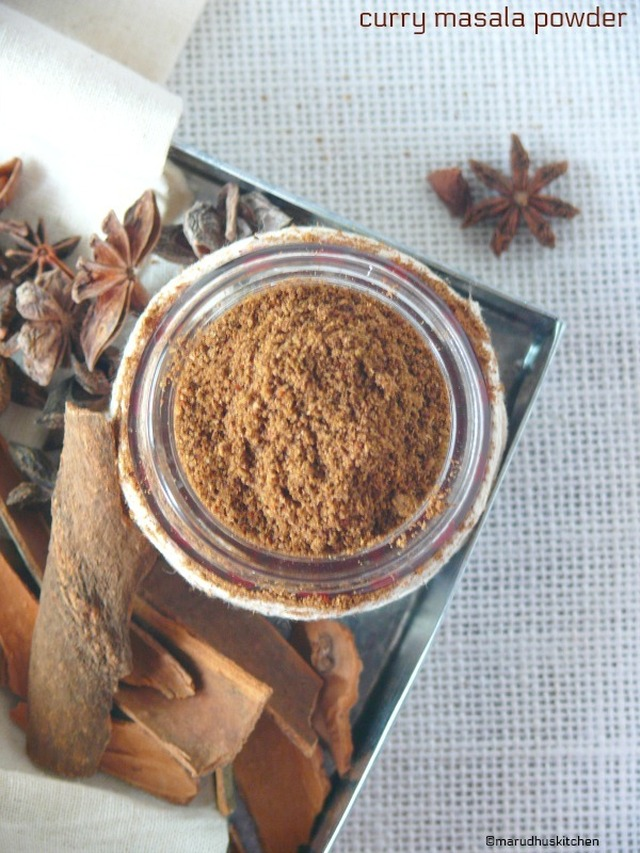 homemade curry masala powder /curry powder recipe