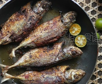 参峇煎鱼(Grilled Fish with Sambal)