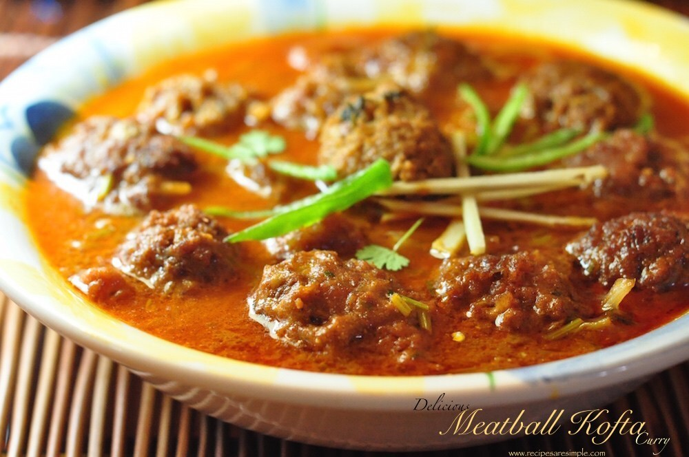 Kofta Meatball Curry – Simple Delicious