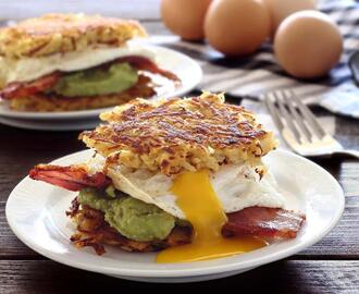 Paleo Breakfast Hash Brown Sliders