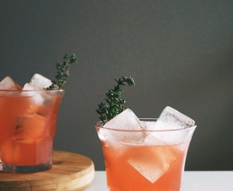 Comment on blood orange whiskey cocktails + taking stock | 02 by 7 Cocktails That Have Us Dreaming Of Spring – Thirty On Tap