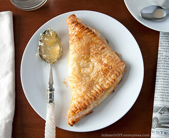 Pineapple Cream Cheese Turnovers
