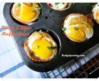 Bacon & Eggs Muffin Cups (Airfry option)