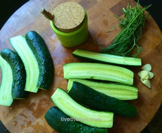 EASIEST PICKLES EVER