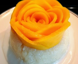 Thai Mango Sticky Rice (Rice Cooker)