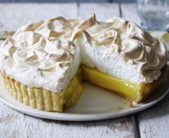 Mary's lemon meringue pie
