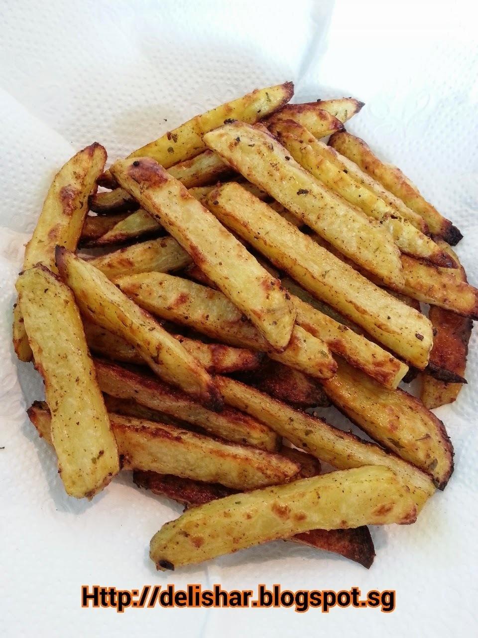 Hand Cut Baked Fries