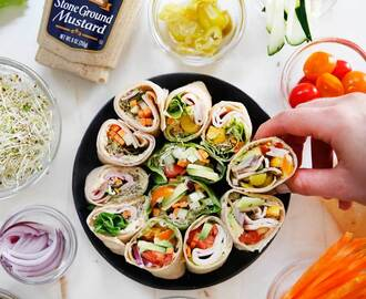 DIY Lunch Pinwheels