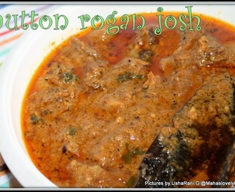 Mutton Rogan Josh | Lamb Rogan Josh | Gosht Curry Recipes | Indian Popular Mutton Recipes | Mutton Gravy Recipes | How to make Mutton Rogan Josh With Step By Step Pictures