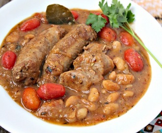Italian Sausage and White Bean Cassoulet